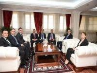 İçişleri Bakanlığı Müsteşar Yardımcısı Ahmet Avşar Vali Deniz'i ziyaret etti