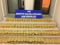 Van'da 82 kilo eroin ele geçirildi