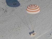 Astronotlar Uzay İstasyonu'ndan dünyaya dönüş yaptı