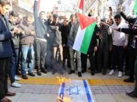 Gaziantepliler ABD ve siyonistlerin paçavralarını yaktı
