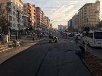 Batman'da ana arter 24 saatte asfaltlandı