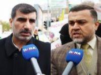 """""""Kürt halkını siyonizmle bir arada göstermeye çalışanlara İstasyon Meydanı cevap veriyor"""""""