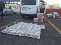 Van'da yaklaşık 200 kilogram eroin ele geçirildi
