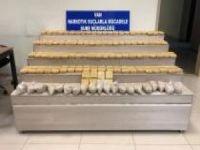 Kamyonetin yakıt deposundan 56 kilogram eroin çıktı