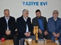 Yapıcıoğlu'ndan Akçakale İlçe Başkanı Aydın'a taziye ziyareti