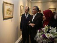 Filistinli ressam İstanbul'da sergi açtı