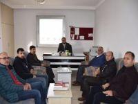 HÜDA PAR'dan Nusaybin'deki basın mensuplarını ziyaret