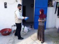 Mersin Umut Kervanından ihtiyaç sahibi ailelere yardım