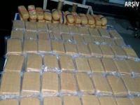 Ağrı'da 210 kilo eroin ele geçirildi