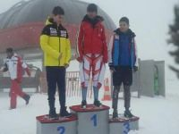Bingöllü kayakçı Türkiye birincisi oldu