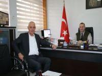Aksoy'dan Askerlik Şubesine ziyaret