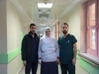 Batman Bölge Hastanesi'nde yarım diz protezinde başarı