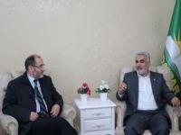Cezayirli siyasi Abdurezzak Makri'den HÜDA PAR'a ziyaret