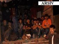 Batman'da 20 kaçak göçmen yakalandı