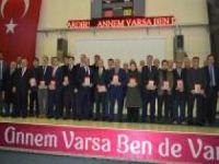 """Bitlis'te """"Annem Varsa Ben de Varım"""" projenin startı verildi"""