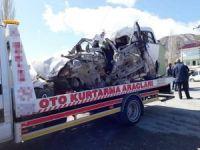 Muş'ta korkutan trafik kazası: 2 ölü 4 yaralı
