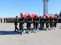 Sele kapılan 2 askerin cenazesi memleketlerine gönderildi