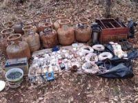 PKK'ya ait el yapımı patlayıcı düzenekleri ele geçirildi