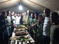 Uşak Belediyesi Zeytin Dalı Harekatı için kurban kesti