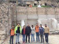 Hasankeyf'te tarihi eserleri koruma çalışmaları sürüyor