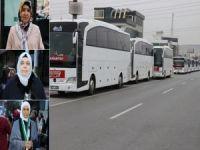 Gaziantepli kadınlar 'Vicdan Konvoyu'na destek için yola çıktı