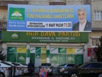 HÜDA PAR Diyarbakır İl Başkanlığı kongre hazırlıklarını tamamladı