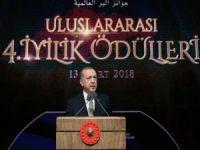"""Erdoğan: """"İslam; ihsan, ahlak ve merhamet dinidir"""""""