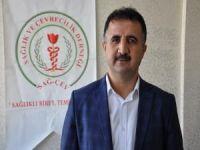 SAĞ-ÇEV Başkanı Güneş, doktora saldırıyı kınadı