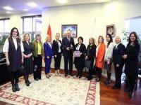 KASİDER'den ATO Başkanı Baran'a ödül