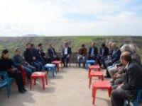 """Çiftçilere """"Örnek Köylerde Pilot Çalışmalar"""" projesi anlatıldı"""