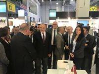 Bilim, Sanayi ve Teknoloji Bakanı Dr. Faruk Özlü, Trio Mobil'in standını ziyaret etti