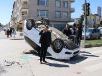 Gaziantep'te trafik kazası: 1'i çocuk 4 yaralı
