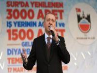 """""""Bölücü örgütün güdümündeki belediyelerin Diyarbakır'a elle tutulacak hizmeti bulunmadı"""""""