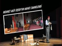 Batman'da Mehmet Akif Ersoy'un hayatı sahnelendi