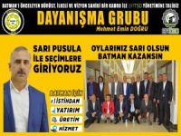Dayanışma Grubu BATSO seçimine sarı liste ile girecek