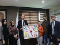 Beyazay Derneğinden Aksoy'a teşekkür ziyareti