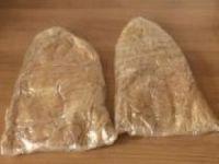 Yolcunun üzerinde bir buçuk kilo eroin ele geçirildi