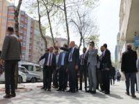 Başkan Vekili Aksoy çalışmaları denetledi