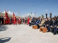 Okul bahçesi Cumhurbaşkanı Erdoğan'ın videokonferans katılımıyla ağaçlandırıldı