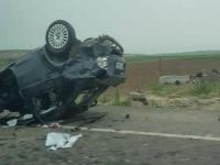 Takla atan otomobildeki 2 kadın hayatını kaybetti