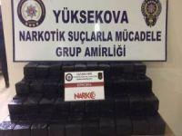 PKK operasyonunda 104 kilo eroin ele geçirildi