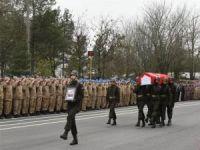 Batman'da hayatını kaybeden asker için tören yapıldı