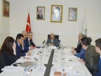 DAKA Yönetim Kurulu Toplantısı Bitlis'te yapıldı