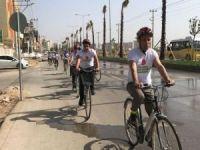 Nusaybin'de 'Yeşil Pedal' bisiklet grubu kuruldu