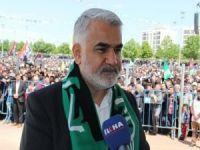 """Yapıcıoğlu: """"Diyarbakır Mekke, Medine ve Kudüs'ten sonra İslam'ın önemli merkezlerinden biridir"""""""