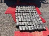 Aracın yakıt deposundan 47 kilo eroin çıktı
