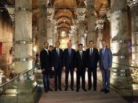 1600 yıllık Şerefiye Sarnıcı'nın açılışı yapıldı