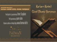 Batman Belediyesi'nden Umre Ödüllü Kur'an-ı Kerimi Güzel Okuma Yarışması