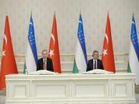 Erdoğan: Özbekistan'la uzun bir yolculuğa çıkıyoruz