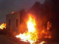 Kastamonu'da 7 ev ve 4 samanlık yandı